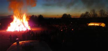 Požární dozor při Pálení čarodějnic