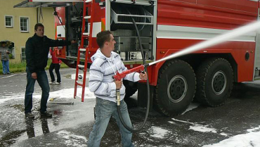 Ukázky hasičské techniky