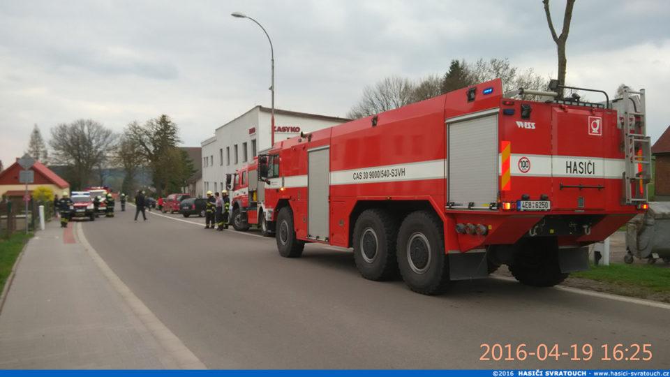 Požár boileru – Svratouch