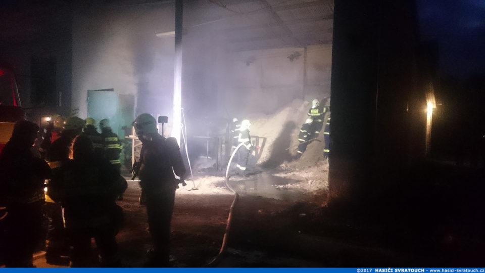 Požár v kotelně – Herálec