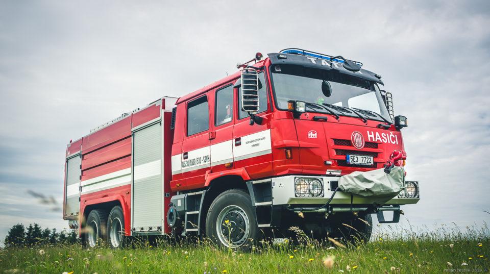 """CAS30 Tatra T815 6×6 """"Jiřinka"""""""