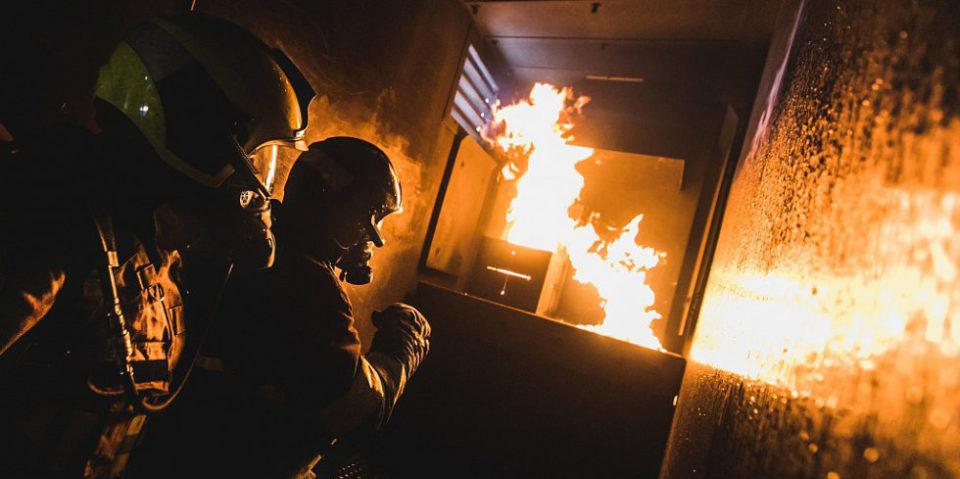Výcvik nositelů dýchací techniky na trenažéru Dräger Fire Dragon 7000