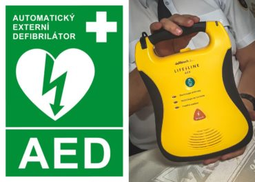 Jednotka obdržela do výbavy AED